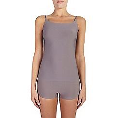 Ten Cate - Brown 'secrets' strappy vest