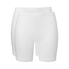 Ten Cate - White long shorts 2 pack