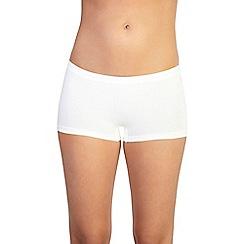 Ten Cate - Pack of three cream shorts