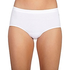 Ten Cate - White midi hipster brief 3 pack