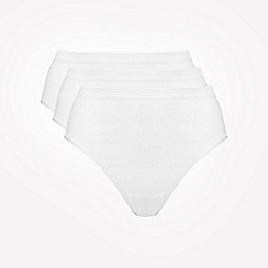 Ten Cate - White high leg briefs 3 pack