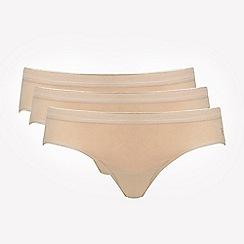 Ten Cate - Pack of three tan bikini briefs