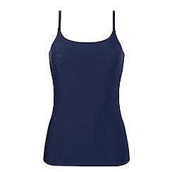 Ten Cate - Navy 'Secrets' spaghetti vest