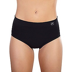 Ten Cate - Black 'Shapewear Seamless' maxi briefs
