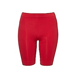 Ten Cate - Red 'Shapewear Seamless' long shorts