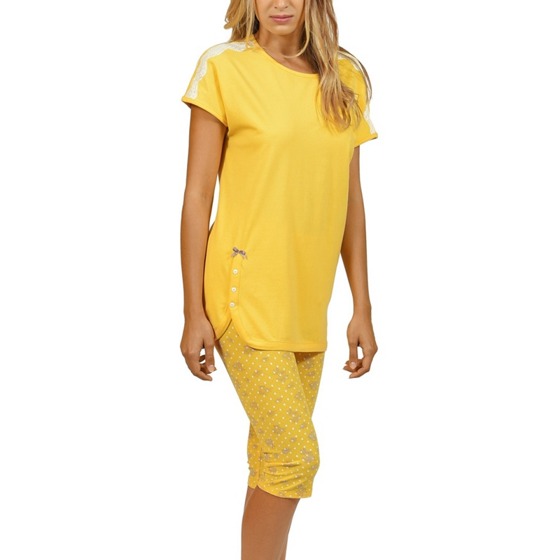 Lisca - Yellow  Flowery  Cotton Pyjama Set · VIEW DETAILS · Brave Soul Womens  Fairisle T-Shirt ... 6abe59126