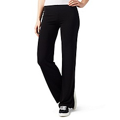 James Lakeland - Black wide leg jersey trouser