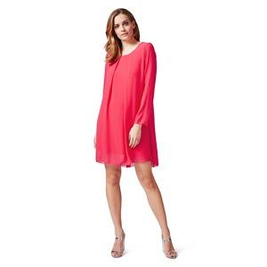James Lakeland Red long sleeve shift dress