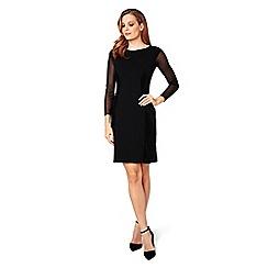James Lakeland - Black velvet pencil dress