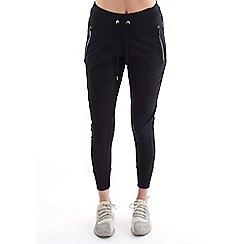 Elle Sport - Black low rise slouch joggers