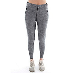 Elle Sport - Grey marl low rise slouch joggers