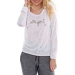 Elle Sport - White lightweight hoody