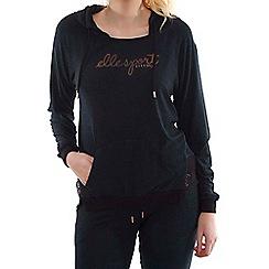 Elle Sport - Black metallic hoody