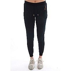 Elle Sport - Black metallic slim leg joggers