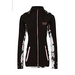 Elle Sport - Black lightweight zip through jacket