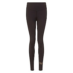 Elle Sport - Black mesh panelled leggings