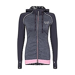 Elle Sport - Grey hooded performance jacket