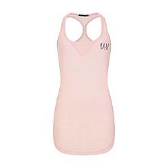 Elle Sport - Pink stripe layering vest top