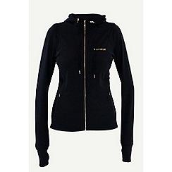 Elle Sport - Black sports jacket with hood