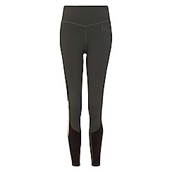 Elle Sport - Grey panelled leggings
