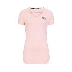 Elle Sport - Pink v-neck t-shirt