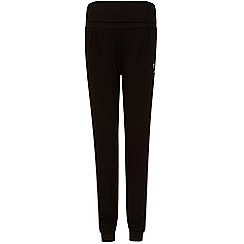 Elle Sport - Black roll waist joggers