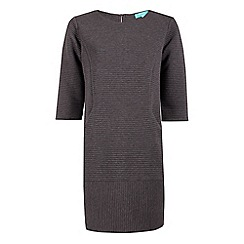 Fever - Grey jersey 'Freya' mini tunic dress