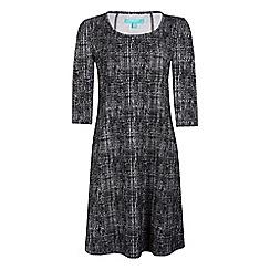 Fever - Black 'Neve' knee length shift dress
