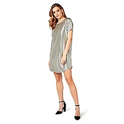 James Lakeland - Silver mini tunic dress