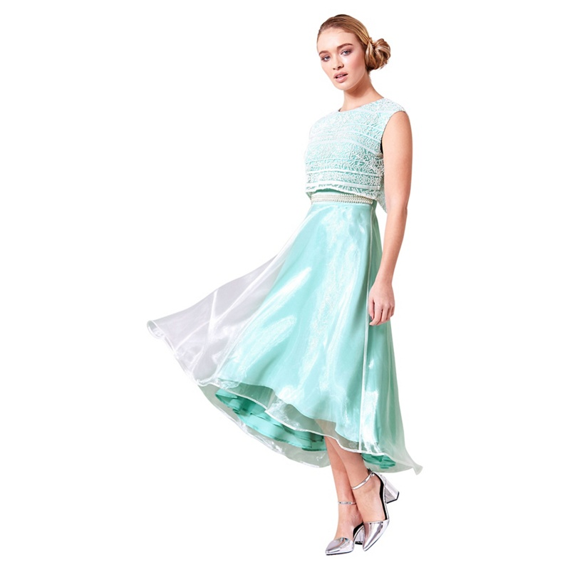 Turquoise Coloured Mother Of The Bride Outfits and Dresses 2018 ...