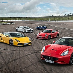 Buyagift - Triple Supercar Driving Blast with Free High Speed Passenger Ride - Special Offer