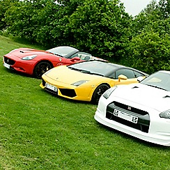 Buyagift - Four Supercar Driving Blast with Free High Speed Passenger Ride - Special Offer