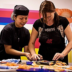 Buyagift - Sushi Making Workshop with YO! Sushi for Two