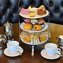 Buyagift - Afternoon Tea for Two at Patisserie Valerie with Cake Gift Box
