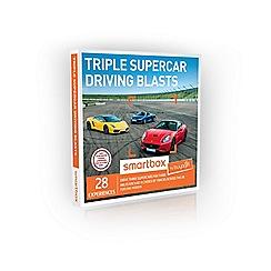 Buyagift - Triple Supercar Driving Blasts