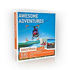 Buyagift - Awesome Adventures Smartbox Gift Experience for 2