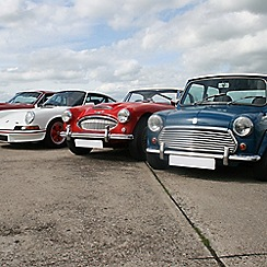 Buyagift - Triple Classic British Car Driving Blast Special Offer