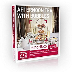 Buyagift - Afternoon Tea with Bubbles Smartbox Gift Experience for 2