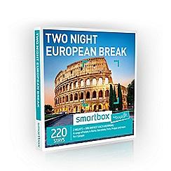 Buyagift - Two Night European Minibreak Smartbox Gift Experience for 2