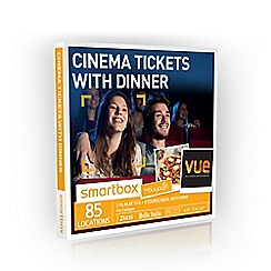 Buyagift - Cinema Tickets with Dinner Smartbox Gift  Experience for 2