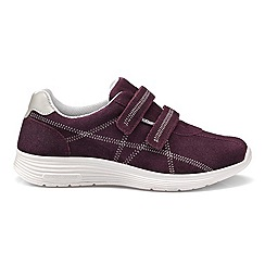 Hotter - Plum 'Astrid' casual trainers