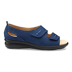 Hotter Navy Florence P Toe Sandals