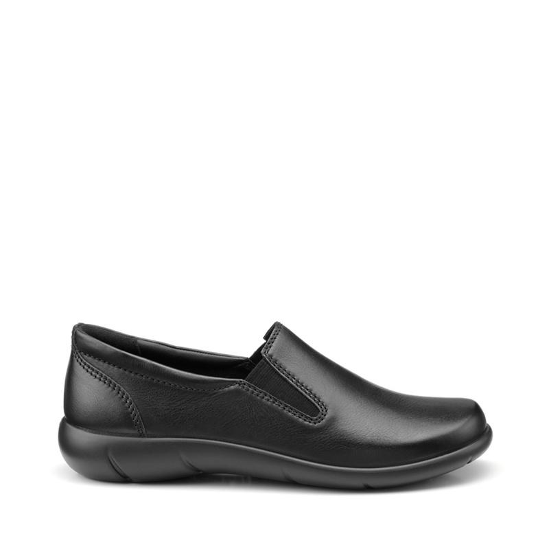 ec0a6289c684 Hotter - Black  Glove  Wide Fit Sliip-On Pumps