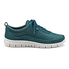Hotter - Dark green 'Gravity' lace-up trainers