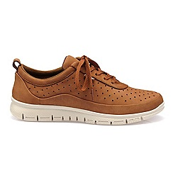 Hotter - Tan 'Gravity' lace-up trainers