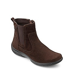 Hotter - Chocolate suede 'Kendal GTX' ankle boots