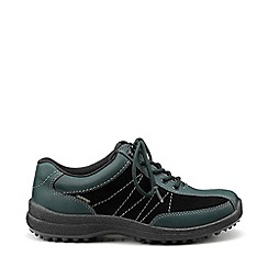 Hotter - Dark green 'Mist' GTX lace-up shoes