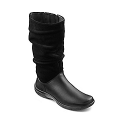Hotter - Black 'Mystery' calf boots