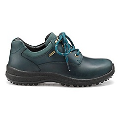 Hotter - Dark green 'Ramble' GTX lace-up shoes