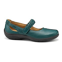 Hotter - Dark green 'Shake' Mary Janes
